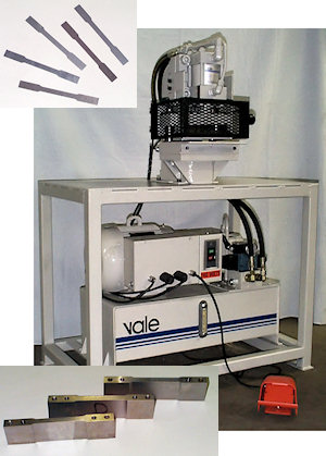 Vale Dogbone Tensile Test Samples Punch